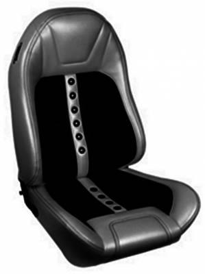 TMI Products - 1971 - 1981 Camaro Sport X Custom Front Bucket and Rear Seat Upholstery