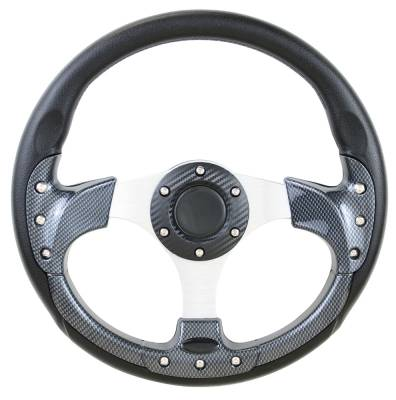 "Forever Sharp Steering Wheels - 12.5"" Pursuit Carbon Fiber Performance Steering Wheel"