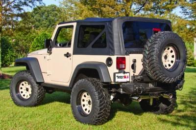 Rugged Ridge - XHD Soft Top, Black Diamond; 07-09 Jeep Wrangler JK