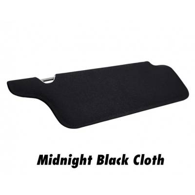 TMI Products - 1994-2004 Mustang Coupe or Convertible Sunvisors, without Mirrors
