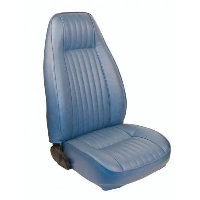 TMI Products - Standard High Back Seat Upholstery for 1981 - 1984 Mustang Coupe, Cobra or Hatchback Front/Rear