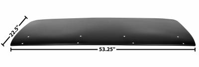 Dynacorn - Replacement Trunk Lid for 1967 - 1969 Camaro w/Spoiler Holes