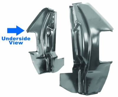Dynacorn - Tail Lamp Panels for 1968 - 1972 El Camino, Right and Left Side