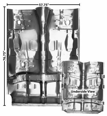 Dynacorn - Floor pan for 1968 - 1969 El Camino