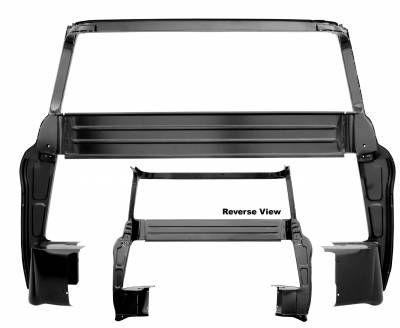 Dynacorn - 1955 -59 Chevy Pick Up Cab Big Window Inner Panel w/B Pillar