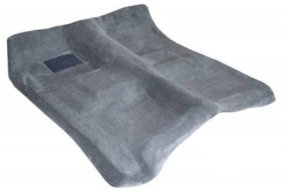 Auto Custom Carpets, Inc. - Molded Cut-Pile Carpet for 1996 - 1998 Chevy/GMC Truck, Crew Cab, Your Choice of Color
