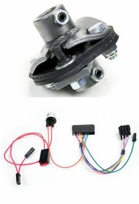 Ididit - Installation Kit - 65-66 Impala Rear Steer - R/W - 13/16-36