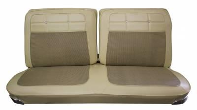 Distinctive Industries - 1962 Impala Split Front & Rear Bench Seat Upholstery