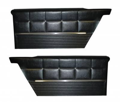 Coupe/Hardtop Rear Quarter Panels