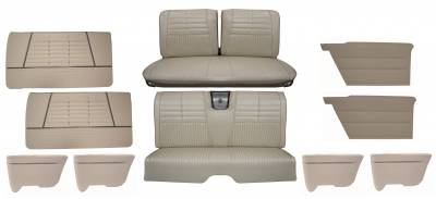 Distinctive Industries - 1964 Impala Standard Bench Seat Upholstery, Carpet & Panel Package 4