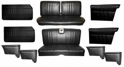 Distinctive Industries - 1965 Impala Standard Bench Seat Upholstery, Carpet & Panel Package 4