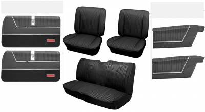 Distinctive Industries - 1965 Impala SS Bucket Seat Upholstery & Panel Package I