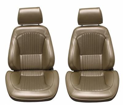 Distinctive Industries - 1968 Mustang Standard Touring II Front Bucket Seats
