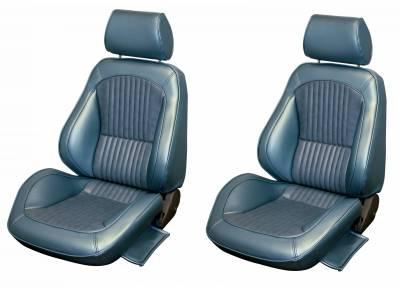 Distinctive Industries - 1969 Mustang Standard Touring II Front Bucket Seats