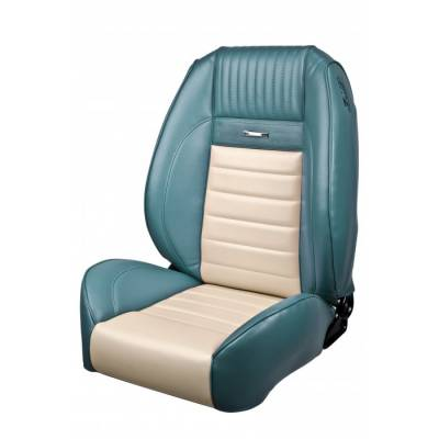 TMI Products - 1964 - 66 Mustang OEM Style Deluxe Sport II Pro Series Seats by TMI