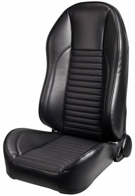 TMI Products - 1967 Mustang Deluxe Highback Sport II Pro Series Seats by TMI