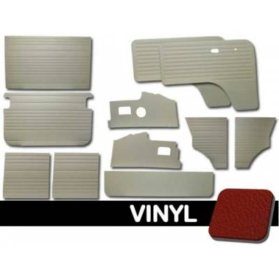 TMI Products - 1971- 76 VW Bus 11-Pc. Smooth Vinyl Door Panel Kit