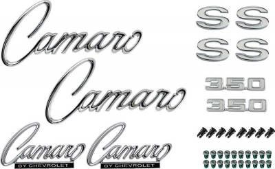 OER - *R1086 - 1969 Camaro SS 350 without RS Option Emblem Kit