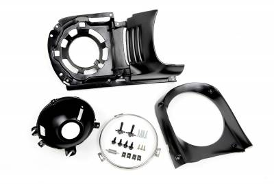 ACP - 1965 - 66 Mustang Headlight Assembly Kit, Right or Left Side