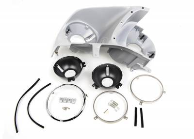 ACP - 1969 Mustang Headlight Assembly Kit, Right or Left Side