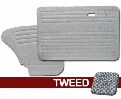 TMI Products - 1956 - 1964 Volkswagen Bug Sedan Authentic Style Door Panels - Full Set in Tweed