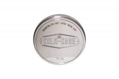 Cold Case - Radiator Cap Billet Polished Cold Case Radiators