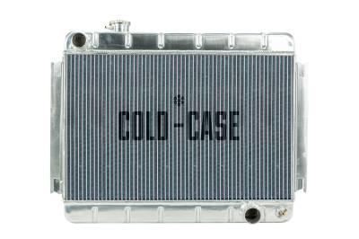 Cold Case - 66-67 Chevelle / El Camino Aluminum Radiator MT Cold Case Radiators