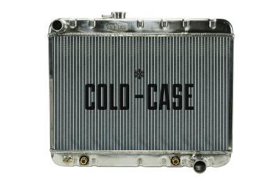 Cold Case - 66-67 GTO Aluminum Radiator W/O AC AT Cold Case Radiators