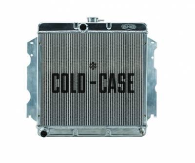 Cold Case - 62-74 A,B,C,E Body SB Aluminum Performance Radiator MT 18x22 Inch Cold Case Radiators