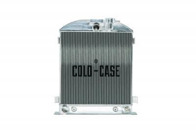 Cold Case - 1932 Lowboy Ford Engine Aluminum Performance Radiator Cold Case Radiators