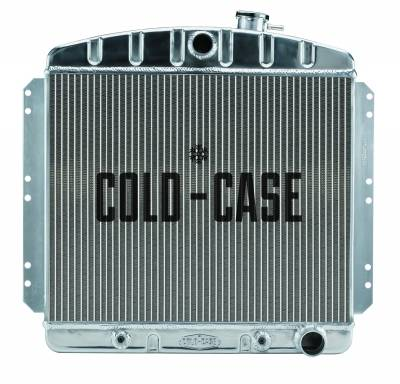 Cold Case - 49-54 Chevrolet Car Aluminum Performance Radiator Cold Case Radiators