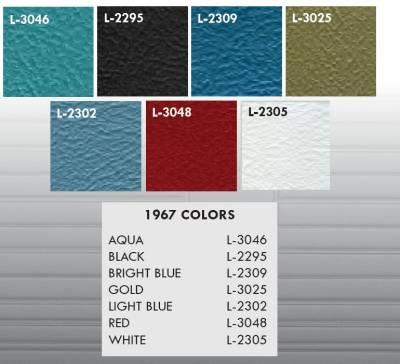 1967 Chevelle Color Chart