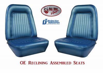 Distinctive Industries - 1967-68 Camaro Standard OE Reclining Front Bucket Seats