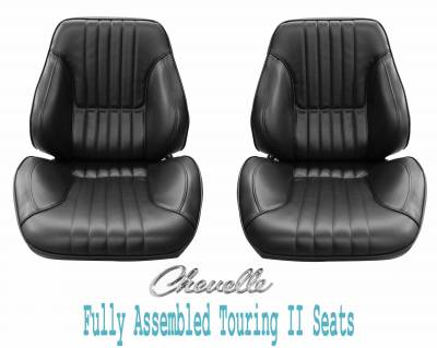 Distinctive Industries - 1968 Chevelle & El Camino Touring II Front Bucket Seats Assembled
