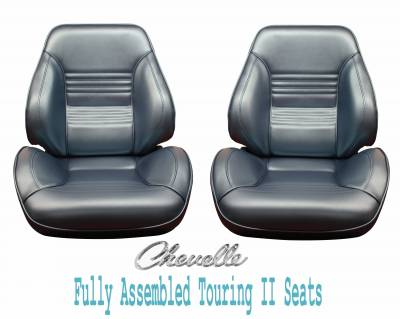 Distinctive Industries - 1967 Chevelle & El Camino Touring II Front Bucket Seats Assembled