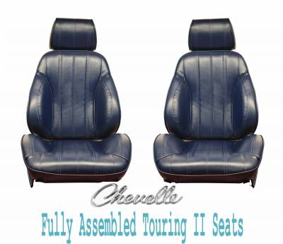Distinctive Industries - 1966 Chevelle & El Camino Touring II Front Bucket Seats Assembled