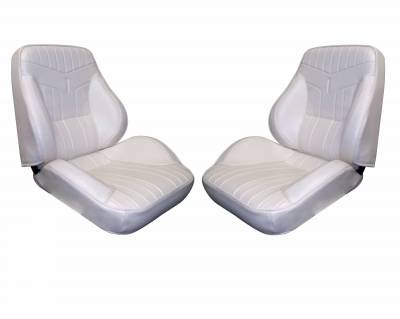 Distinctive Industries - 1969 GTO & LeMans Touring II Front Bucket Seats Assembled