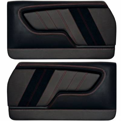 Custom Made Molded Sport R Door Panels For 1968 - 1972 Chevrolet Chevelle's By TMI in USA