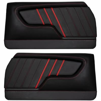 Custom Made Molded Sport GT Door Panels For 1968 - 1972 Chevrolet Chevelle's By TMI in USA
