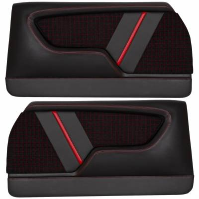 Custom Made Molded Sport LR Door Panels For 1968 - 1972 Chevrolet Chevelle's By TMI in USA