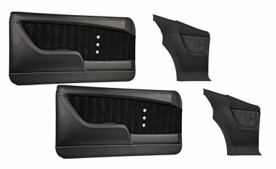 TMI Products - 1968 Camaro Molded Sport XR Door & Rear Quarter Panel Set
