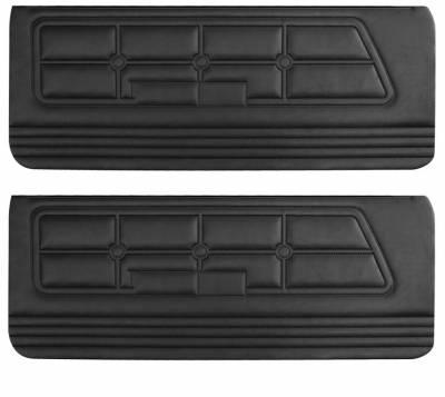 Distinctive Industries - Standard Door Panels for 1971-1973 Mustang All Models by Distinctive
