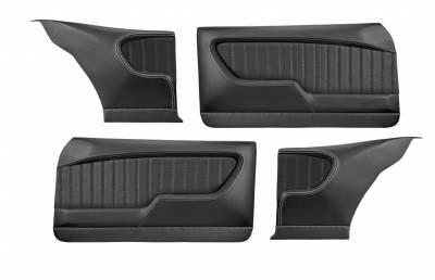 TMI Products - 1968 - 1972 Nova 2 door Coupe Molded Sport  Door & Rear Quarter Panel Set