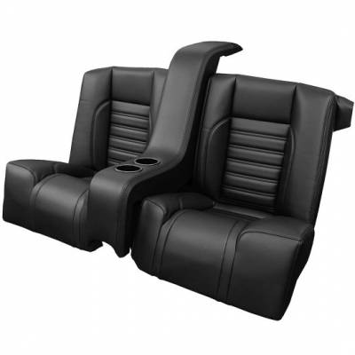 47-83600 Complete Tri-Five Rear Bench with Console