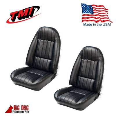 TMI Products - 1971 - 1977 Camaro Front Highback Bucket and Rear Seat Upholstery - Image 4