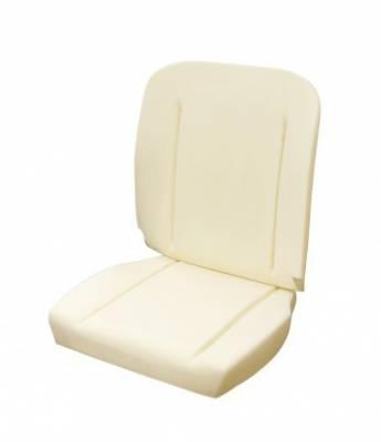 Chevelle/El Camino - Seat Foam - TMI Products - 1964 - 1965 Chevelle, El Camino Standard Bucket Seat Foam, Premium w/Wires