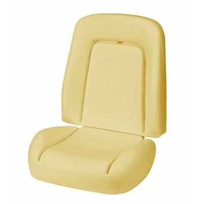 1967 - 1969  - Seat Foam - TMI Products - 1967 Camaro Coupe, Convertible Deluxe Sport Seat Bucket Seat Foam
