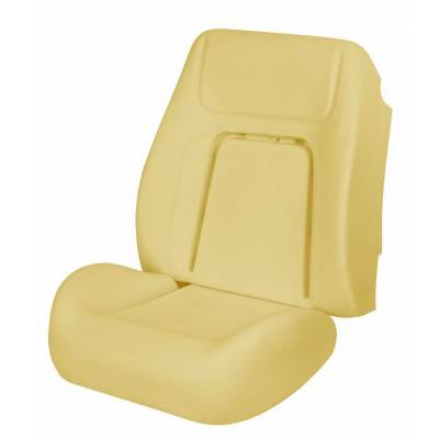 1967 - 1969  - Seat Foam - TMI Products - 1968 Camaro Coupe, Convertible Deluxe Sport Seat Bucket Seat Foam