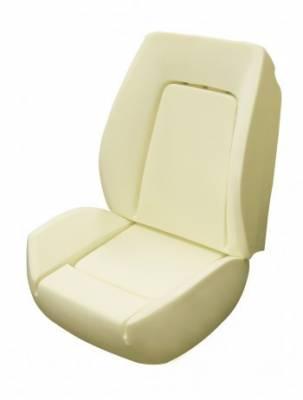 Camaro - Seat Foam - TMI Products - 1971-1981 Camaro II, R, X, XR Molded Seat (Bucket Seat) Foam