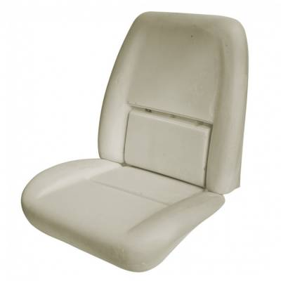 1970 Camaro Coupe, Convertible Standard or Deluxe Replacement Bucket Seat Foam